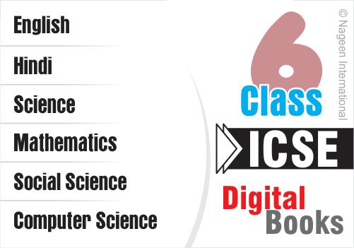 Icse Digital Ebooks For Class 6 All Subjects School Of Educators