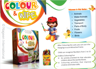 Colour & Wipe eBooks