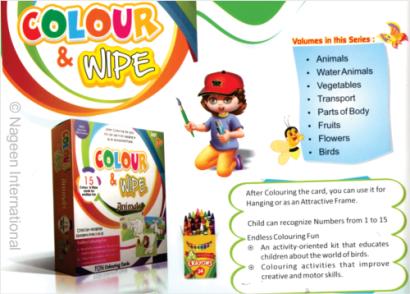 Colour & Wipe eBooks