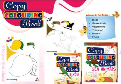 Copy Colouring eBooks