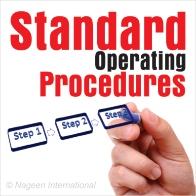 Standard Operating Manuals