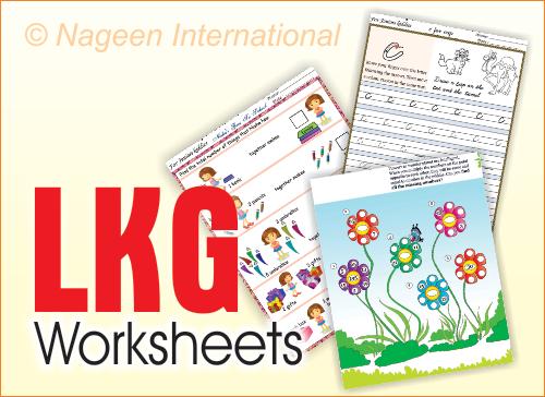 Worksheets - LKG