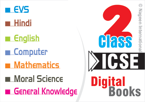 ICSE Digital Books Class 2 : All Subjects